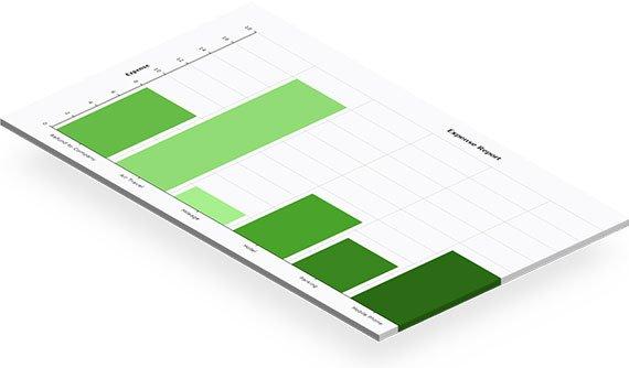 Ukázka schválení podnikových údajů v expense@work