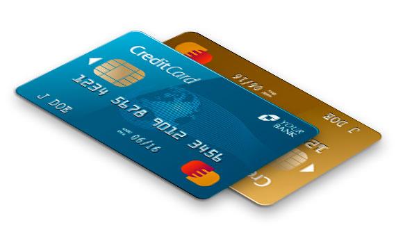 Obrázok platobných kariet
